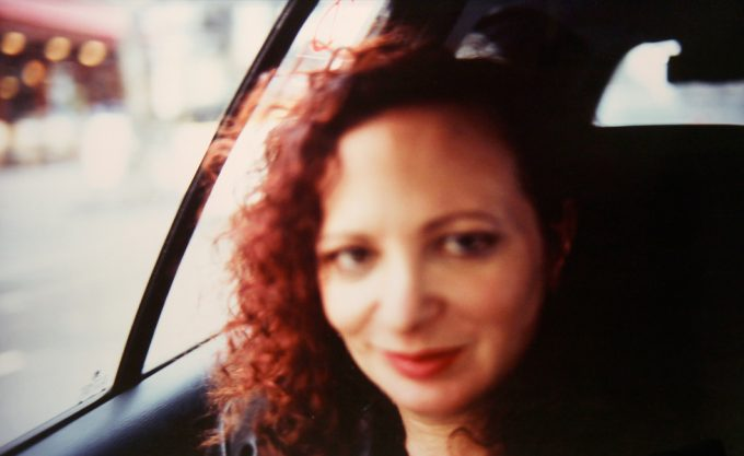 Nan Goldin, Self Portrait in Taxi Paris