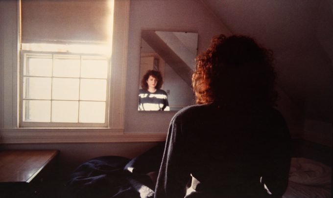 Nan Goldin, Self Portrait in the mirror, The Lodge, Belmont, MA