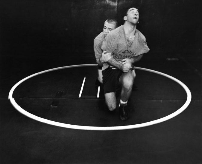 Ken Graves and Eva Lipman, Wrestlers, Penn State University