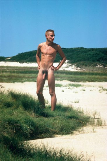 David Jarrett, Mark Morrisroe in Provincetown Dunes 01