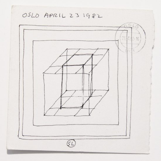 Sol LeWitt, Oslo Drawing