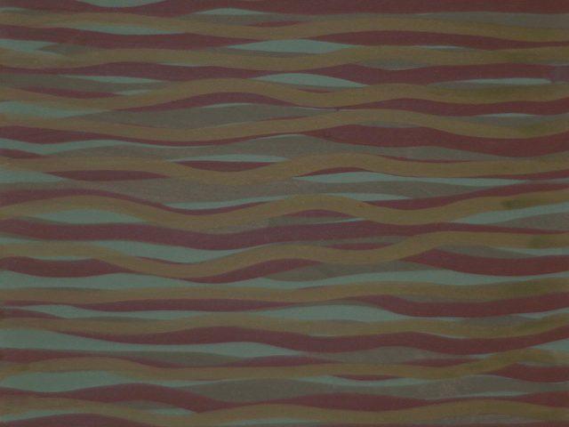 Sol LeWitt, Untitled Horizontal Brushstrokes