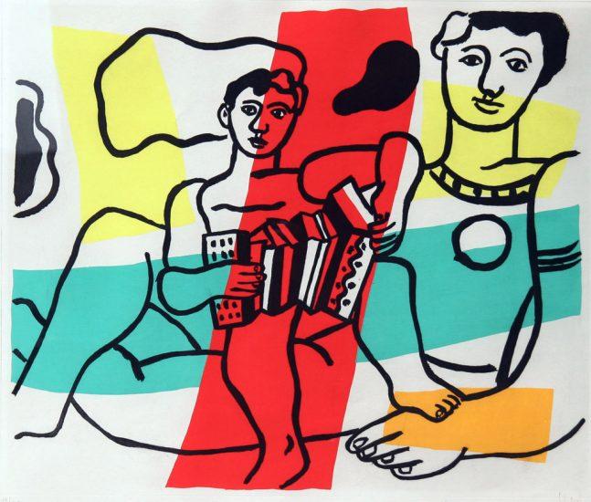 Fernand Leger, L'enfant a l'acordeon
