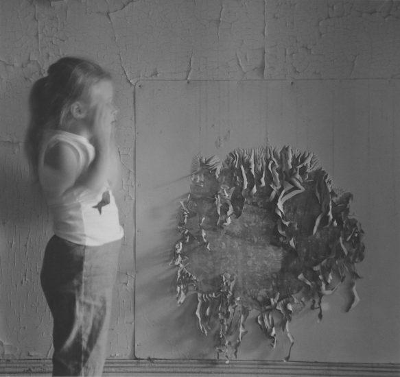 Ralph Eugene Meatyard, Figure and Wall Detail