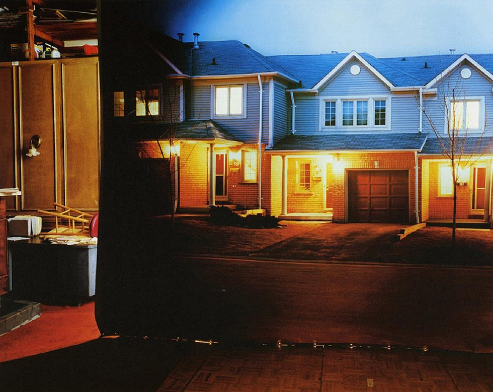 """Suburban Street in Studio (from """"The Valley,"""" adult films series)"""