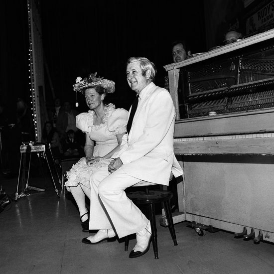 Henry Horenstein, Minnie Pearl and Peewee King, Ryman Auditorium, Nashville