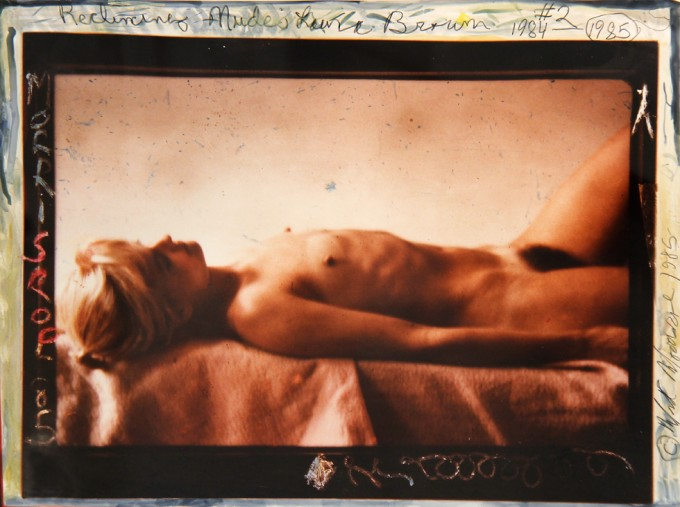 Mark Morrisroe, Reclining Nude is Laura Brown