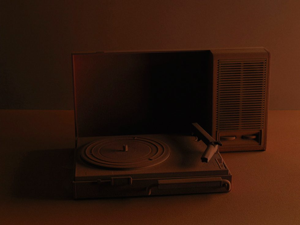 Untitled (Record Player)