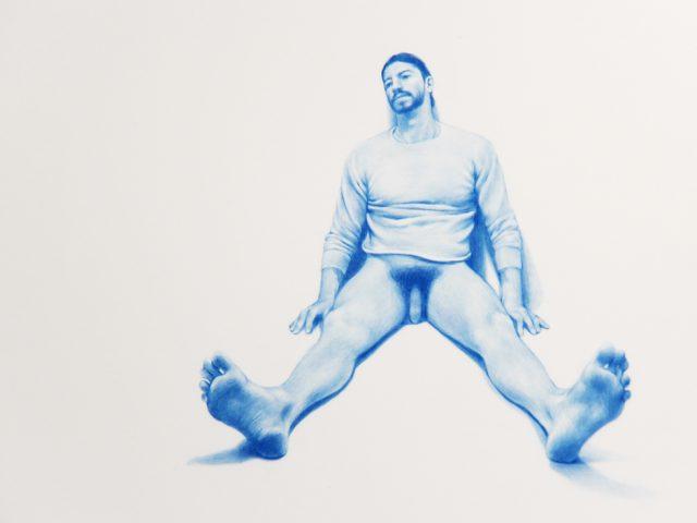 Zachari Logan, Untitled, Blue Boy Series