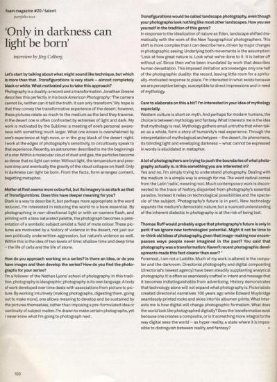 Michael Lundgren | Foam Magazine