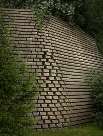 Joshua Lutz, Collapsing Wall