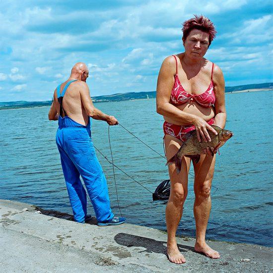 Evzen Sobek, Couple Fishing