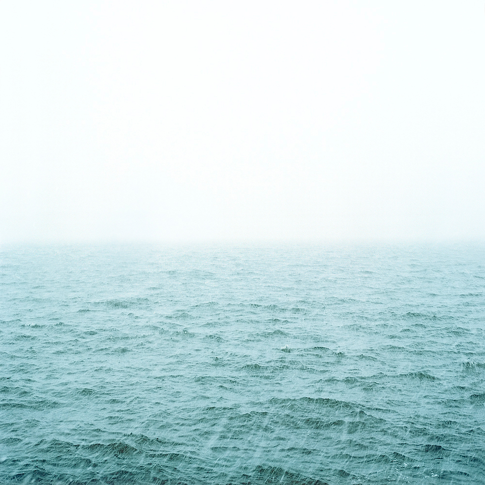 Untitled (Snowstorm Over Water)