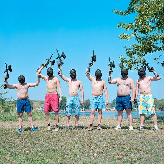 Evzen Sobek, Paintball guns
