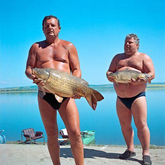 Evzen Sobek, Men with Fish