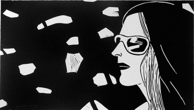 Alex Katz, Kym, Linocut, Print