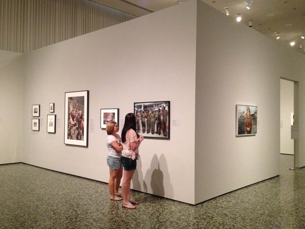 "Rachel Papo's work included in the landmark exhibition, ""War/Photography,"" at the Museum of Fine Arts, Houston"