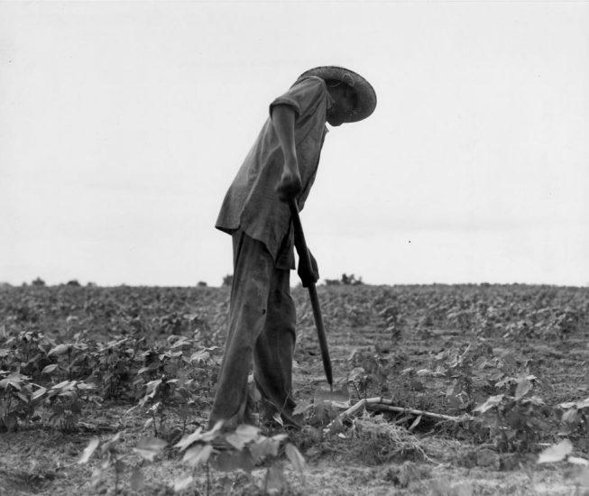 Dorothea Lange, Negro Near Yayoo, Mississippi