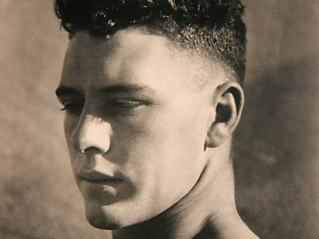 Max Dupain, Boy's Head in Sunlight