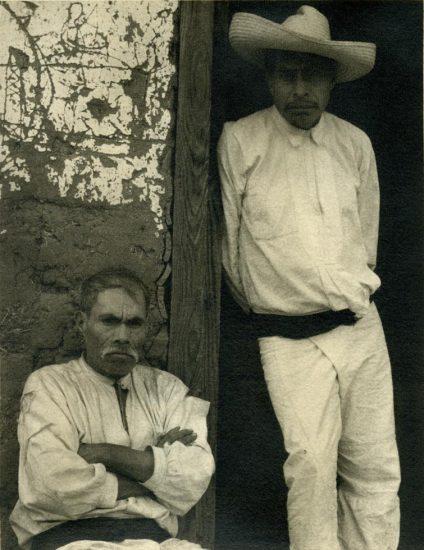 Paul Strand, Portrait of Two Men