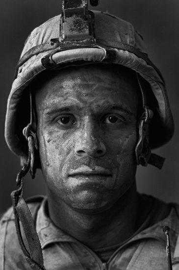 "Louie Palu, U.S. Marine Gunnery Sergeant Carlos ""OJ"" Orjuela, age 31, Garmsir, Helmand, Afghanistan"