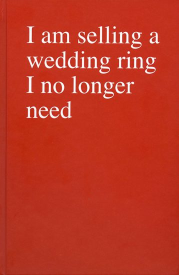 Sophie Barbasch, I am selling a wedding ring I no longer need
