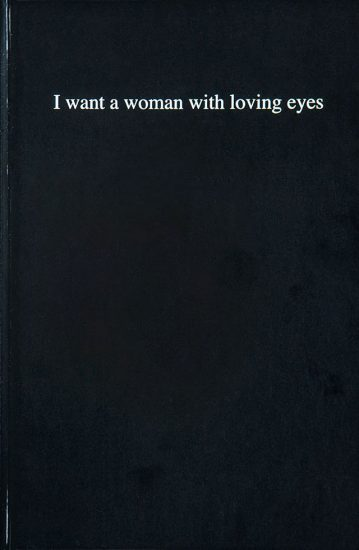 Sophie Barbasch, I want a woman with loving eyes