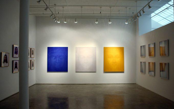 Nancy Burson, Hand of God installation