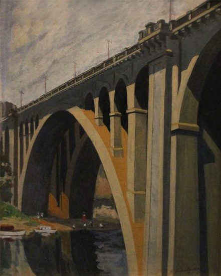 H. Assenheimer, View of a Bridge