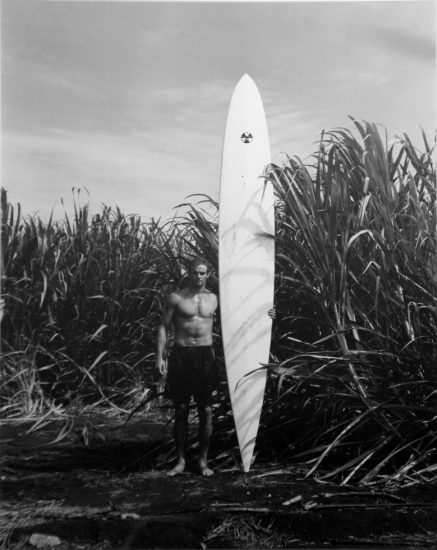 Patrick Cariou, Surfer with White Board
