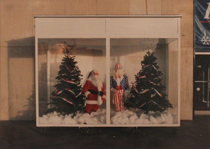 Marion Faller, Santa Claus and Uncle Sam, Festival of Lights, Niagara Falls, NY