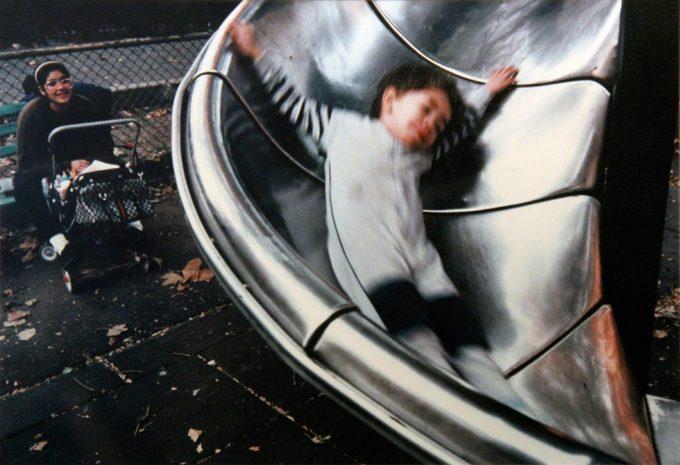 Joseph Rodriguez, Boy on Slide