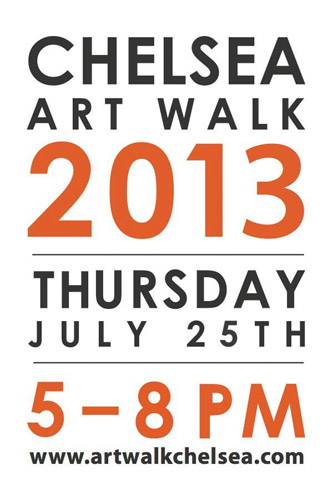Chelsea Art Walk Logo 2013