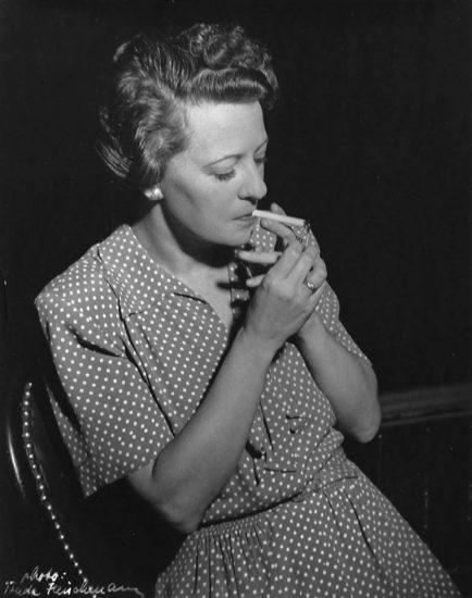 Trude Fleishmann, Portrait of  Margaret Webster
