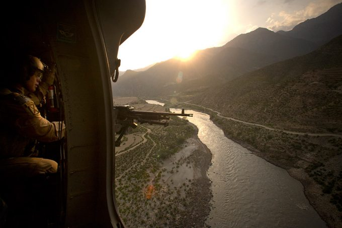 Chad Hunt, A View from the door. . ., Kamdesh, Afghanistan