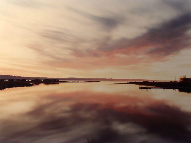 Richard Misrach, Salton Sea with campers