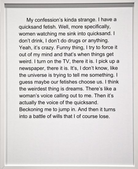 Sophie Barbasch, confession