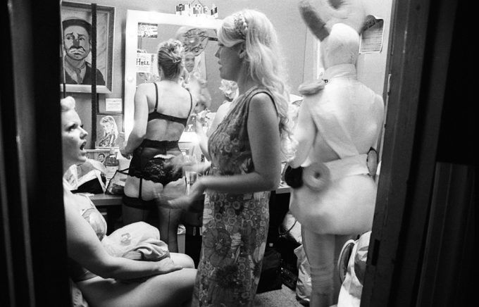 Amy Touchette, Circus Sideshow Dressing Room, Coney Island
