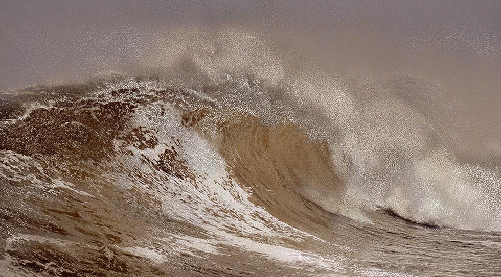 Aziz + Cucher, Wave (Copper)