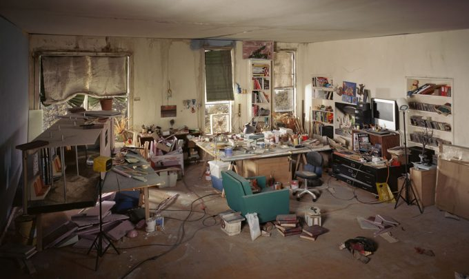 Lori Nix, Living Room