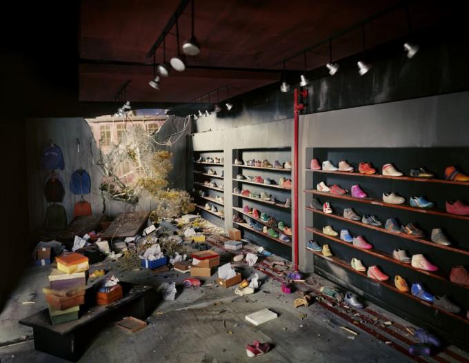 Lori Nix, Shoe Store
