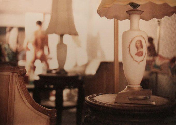 Jeff Burton, Untitled #12 (Lamp with Stapler)