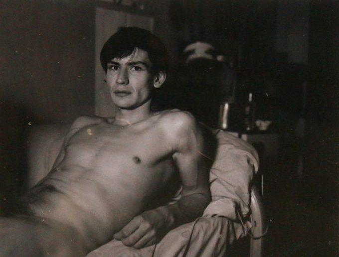 Mark Morrisroe, (Reclining Self-Portrait )