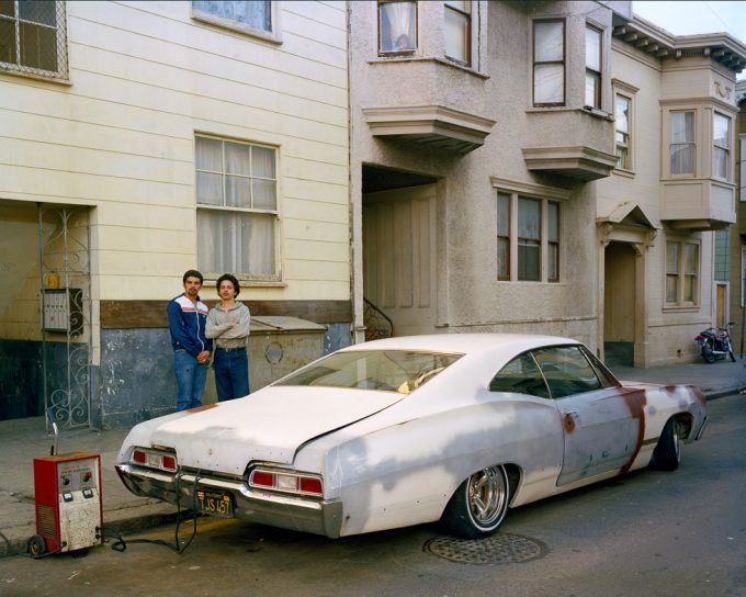 Janet Delaney, Charging battery, Moss Street