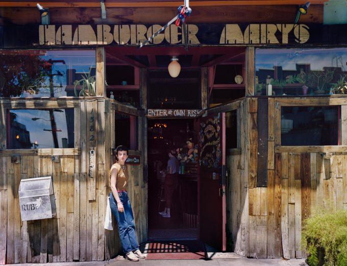 Janet Delaney, Hamburger Mary's, Folsom at 10th Street