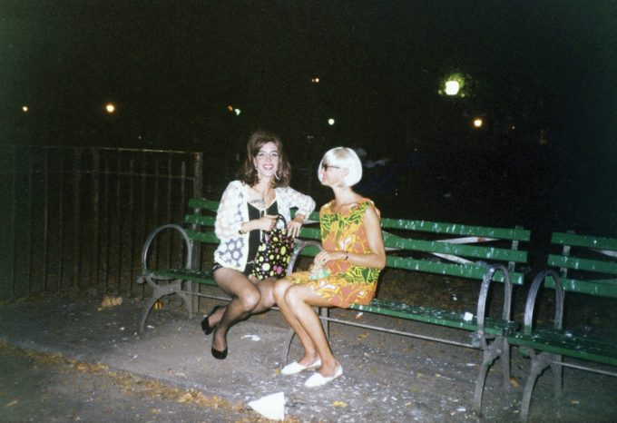 Les Simpson/Linda Simpson, Linda and Page in Tompkins Square Park After Wigstock
