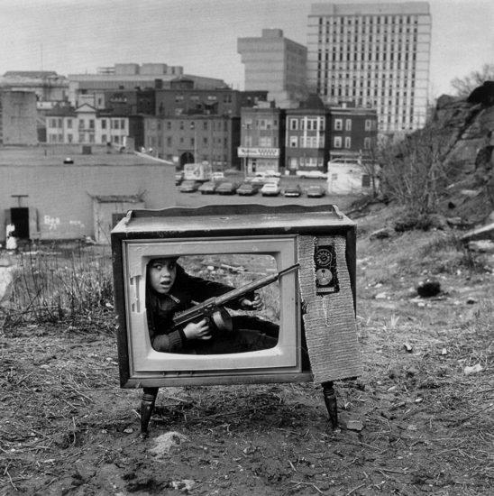 Arthur Tress, Boy in TV Set