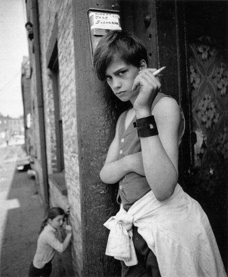 Arthur Tress, Boy with Cigarette