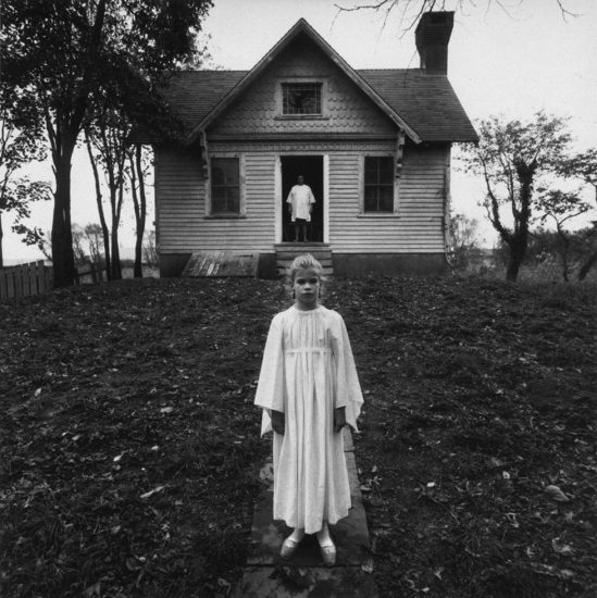 Arthur Tress, Girl in White Dress