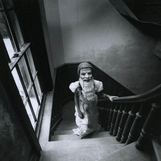 Arthur Tress, Girl With Mask